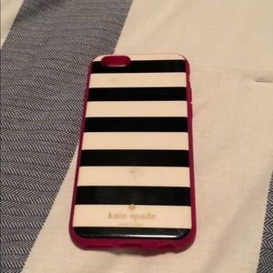 Kate Spade Striped iPhone 6/7 Case